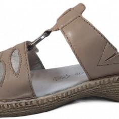 Papuci de dama Jana 8-8-27111-22 341 bej