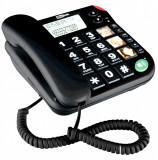 Telefon fix MaxCom KXT480 negru