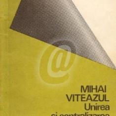 Mihai Viteazul - unirea si centralizarea Tarilor Romane