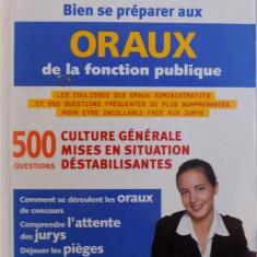 BIEN SE PREPARER AUX ORAUX DE LA FUNCTION PUBLIQUE par PIERRE GEVART , 2003