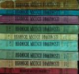 OCTAVIAN LAZAR COSMA - HRONICUL MUZICII ROMANESTI - VOL. I-IX {1973-1991}