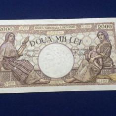 BANCNOTE ROMANIA - 2.000 LEI 18 NOEMVRIE 1941 - SERIA V. 0252 0202