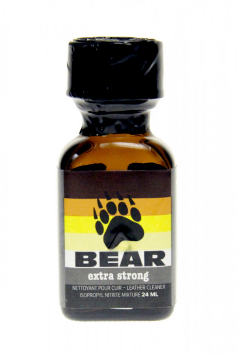 POPPERS BEAR EXTRA STRONG ,24ML, AROMA CAMERA ,SIGILAT,RUSH,CALITATE ,POPER,