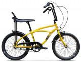 Bicicleta Pegas Strada Mini 1S 2017, Cadru 13inch, Roti 20inch (Galben)