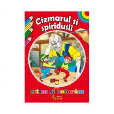 Citim si Coloram Cizmarul si Spiridusii - H.C. Andersen