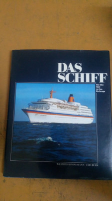 Das Schiff, Nav, Eine Idee Fährt zur See. Die Europa foto