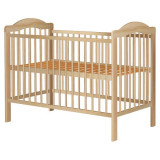 Cumpara ieftin Patut copii din lemn Hubners Lizett 120x60 cm natur