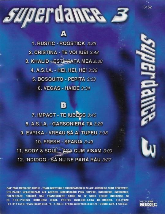 Caseta Superdance 3- selectie
