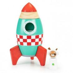 Jucarie racheta din lemn Ecotoys