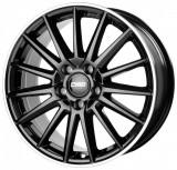 Janta aliaj CMS C23 7.5x17 5x112 ET 40 Diamond Rim Black, 17, 7,5