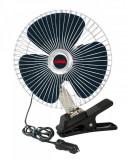 "Ventilator oscilant Chrome - Fan Ø 8"" din metal 24V Garage AutoRide"