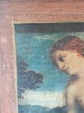 Litografie veche dupa Tizian