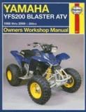 Haynes Yamaha YFS200 Blaster ATV Owners Workshop Manual