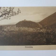 Carte postala necirculata Michelsberg/Cisnadioara(Sibiu) anii 20, Circulata, Printata