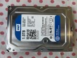 HDD 1 Tb 3,5 inch Western Digital Blue Sata3 6Gb/s 64MB Cache., 1-1.9 TB, 7200, SATA 3