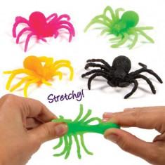 Set 12 paianjeni extensibili Stretchy Spiders, 3 ani+