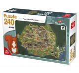 Cumpara ieftin Puzzle Flora/Fauna Romaniei, 240 piese