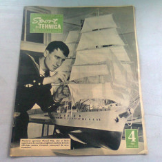 REVISTA SPORT SI TEHNICA NR.4/1968