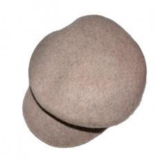 Caciula rafinata cu design de cozorog, nuanta de maro