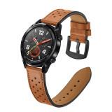 Curea Piele naturala 22mm SSamsung Galaxy Watch 46mm, Gear S3 Huawei watch GT