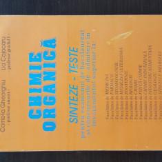 CHIMIE ORGANICA - CORNELIA GHEORGHIU, 1995