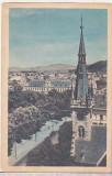 bnk cp Vedere din Orasul Stalin - circulata - marca fixa