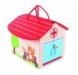 Mini Spitalul animalelor PlayLearn Toys, Bigjigs