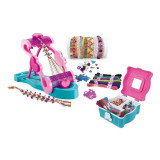 Set creatie bratari pentru fetite, 393 accesorii, 3 ani+