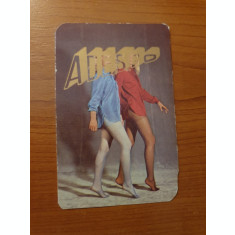 calendar de buzunar din anul 1983