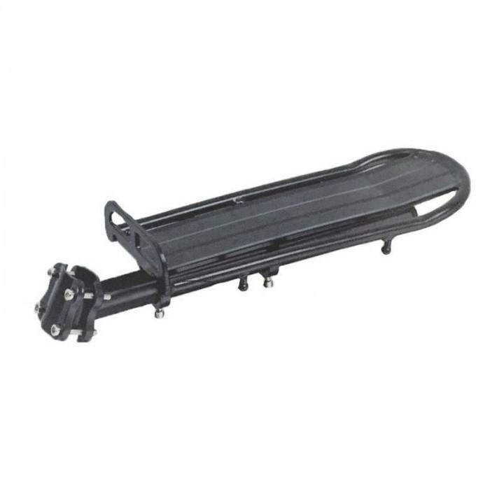 Portbagaj spate pentru bicicleta, 32 x 13 cm, montare pe tija, compatibilitate universala
