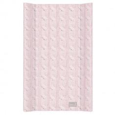 Blat de Infasat cu intaritura Ceba Baby 50x70 cm, Cable Stitch Pastel Collection, Roz