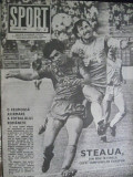 Revista Sport (1989) Steaua Bucuresti din nou in finala Cupei Campionilor Europe