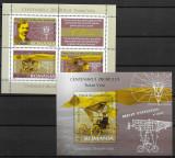 Centenarul Vuia, colite neuzate, MNH, L.P. 1712b-13, 2006, Nestampilat