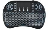 Mini tastatura multimedia Wireless iluminata