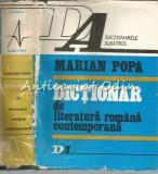 Cumpara ieftin Dictionar De Literatura Romana Contemporana - Marian Popa