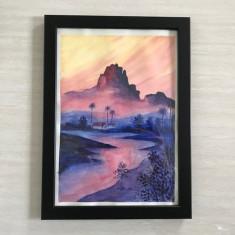 Tablou original pictat manula A4