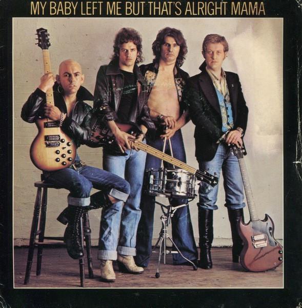 "Slade - My Baby Left Me / That's All Right (1977, Barn) Disc vinil single 7"""