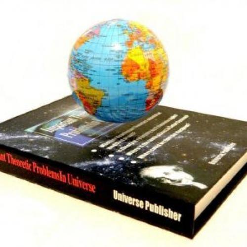 Glob pamantesc ce leviteaza pe carte