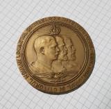Medalie 1939 Carol I - Ferdinand - Carol II - Scoala superioara de razboi