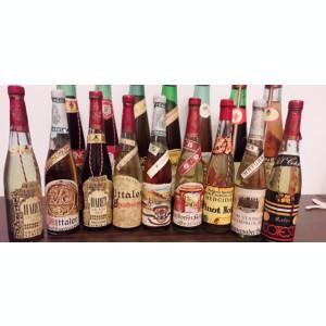 Vand sticle de vin vechi din 1983