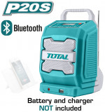 TOTAL - Radio - Li-Ion - 20V