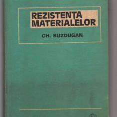 C8316 REZISTENTA MATERIALELOR - GH. BUZDUGAN