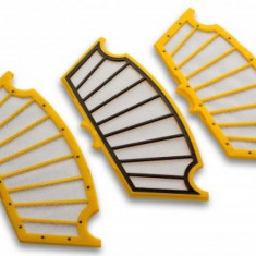 Filter-set pentru irobot roomba 500er serie (3x schwarz-gelb), ,