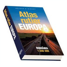Readers digest atlas rutier europa romania