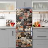 Sticker Tapet Autoadeziv pentru frigider, 210 x 90 cm, KM-FRIDGE-26