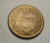 200 lei 1945 UNC