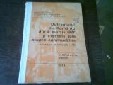 CUTREMURUL DIN ROMANIA DIN 4 MARTIE 1977 SI EFECTELE SALE ASUPRA CONSTRUCTIILOR. SINTEZA MONOGRAFIEI. PARTEA A II-A ANEXE
