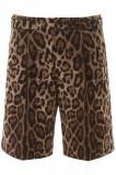 Cumpara ieftin Pantaloni scurti barbat Dolce & gabbana leopard print bermuda pants GW8UHT FSFAG HY13M Multicolor, 48, 50