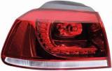 Stop spate lampa Volkswagen Golf 6 (1L) GTI/GTD 10.2008-2013 BestAutoVest partea Stanga exterior tip bec led faruri Kft Auto, AutoLux