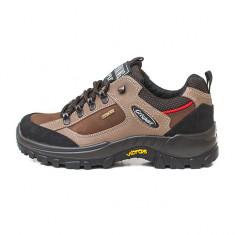 Pantofi Adulti Unisex Drumetie Piele impermeabili Grisport Terebellum Gritex Vibram, 40 - 45, Maro
